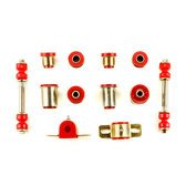 Andersen Restorations Red Polyurethane Front Suspension Bushings Set Compatible with Chevrolet Chevelle
