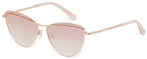 Ted Baker Reine Gafas de sol, Rosa (Rose Gold Pink/Brown ...