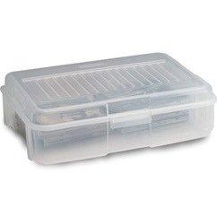 Rubbermaid File Tote (Storage, 1.8Gal Snapcase, Cr)