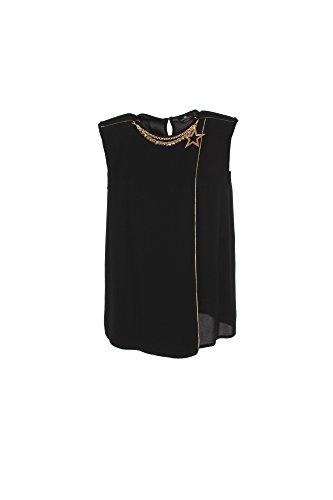 Camicia Donna Elisabetta Franchi 44 Nero Ca01176e2 Autunno Inverno 2017/18