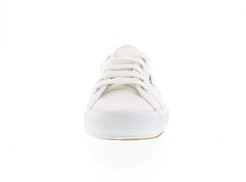 SUPERGA 2750 Cotu Bianco Sneakers Scarpe Unisex Tela
