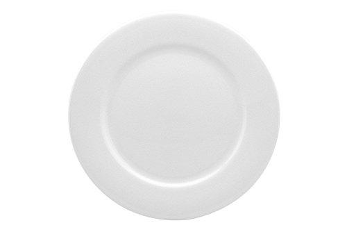 Red Vanilla Pure Vanilla Dinner Plates, 10.75-Inch, Set of (Bone White Dinner Plates)