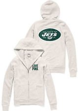 ... Giants Bling Slouchy Zip Hoodie 69.50 New England Patriots Half- Zip  Pullover Victorias Secret PINK NFL Collection New York JETS Faux-Fur Lined  Bling ... 6acd4e345