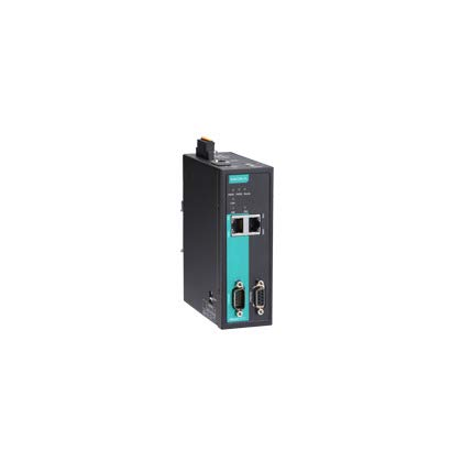MOXA MGate 5111 Industrial Ethernet Gateway, Protocol Converter, 1-Port Modbus/EtherNet/IP-to-PROFINET Gateway, -40 to 75°C Operating -