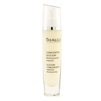 Thalgo - Silicium Concentrate: Intensive Restructuring Cellular Booster - 30ml/1oz Balneol Hygienic Cleansing Lotion 3 oz