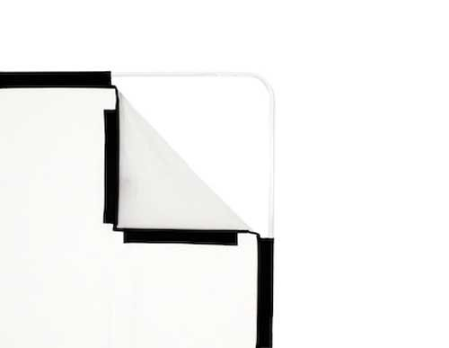 Lastolite Skylite Rapid Medium Fabric, 1.1x2.0m (3.6x6.6'), 1.25 Stop Diffuser