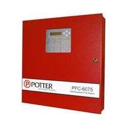 POTTER PFC-6075 ADDRESSABLE FIRE CONTROL PANEL