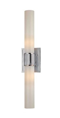 Hudson Valley Bath Sconce - Hudson Valley Lighting 1822-SN Two Light Bath Bracket from the Fulton collection 2, Satin Nickel