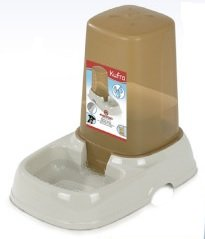 Marchioro Kufra 2 Waterer/Feeder or Siphon for Pets, 10.25″, Beige, My Pet Supplies