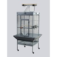 Prevue Pet Products Wrought Iron Select Bird Cage Black Hammertone 3151BLK, My Pet Supplies