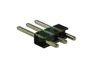 PH Series 3 Position 2.54 mm Single Row Through Hole Straight Pin Header, Pack of 750 (PH1-03-TA)