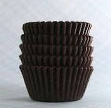 1000 Chocolate Brown JUMBO LARGE SIZE Cupcake Muffin Liners Baking Cups Wrappers