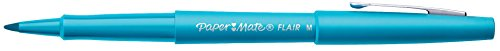 Paper Mate Flair Felt Tip Pen, Medium Point, Sky Blue, 1 Pen by Paper Mate (Image #5)