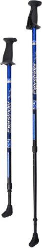 Exerstrider OS-2 Adjustable Exercise & Walking Poles Specially Designed for Physical Therapy, Walking, Exercising, and Weight Loss (Blue)