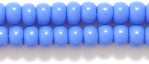 Size 6//0 Opaque Light Blue Preciosa Ornela 6SB172 Czech Seed Bead