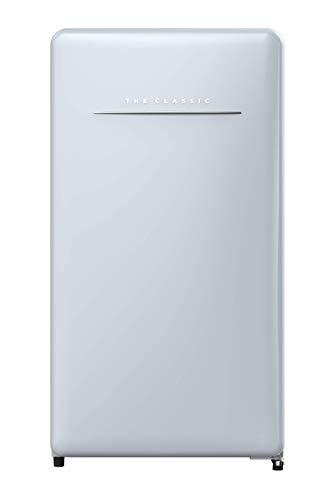 Daewoo FR-044RCNL Retro Compact Refrigerator, 4.4 Cu Ft, City Blue
