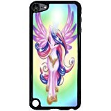 Ipod Touch 5th Generation TV Cartoon Cell Cover Nice Twilight Sparkle My Little Pony Phone Case Cover for Ipod Touch 5th Generation (594 Mint)