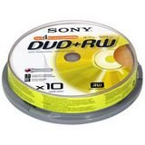 Sony Branded Dvd+rw Rewritable Disks