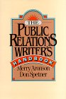 The Public Relations Writer's Handbook 9780029010525