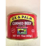 Ox Palm Corned Beef 15oz (5 Pack)