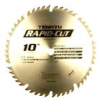 Tenryu RS-25524CBN 10'' Carbide Tipped Saw Blade ( 24 Tooth ATB Grind - 5/8'' Arbor - 0.126 Kerf)
