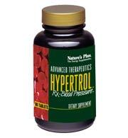 Plus 60 Tabs (Hypertrol Rx Blood Pressure Nature's Plus 60 Tabs)