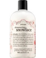 - Philosophy Holiday Shimmering Snowlace Shower Gel, 16 ounces