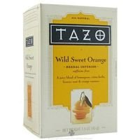 (Herbal Infusion Tea-Wild Sweet Orange (Decaf) Tazo Teas 20 Bag)