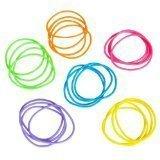Rhode Island Novelty Neon Jelly Bracelets - 144 piece - Assorted Colors (Jelly Bracelts)