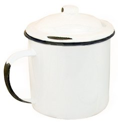 Mug - Enamelware with Lid 5
