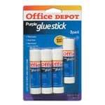 UPC 735854001049, Office Depot(R) Glue Sticks, 0.32 Oz., Purple, Pack Of 4