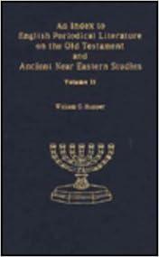 5. Biblical Studies Journals: Electronic