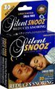 Silent Snooz Snoring Aid 1 Size Fits All Unscented, (Pack of 3)