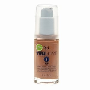 Cover Girl New TruBlend Foundation Liquid Makeup, Toasted Almond - 1 Ea