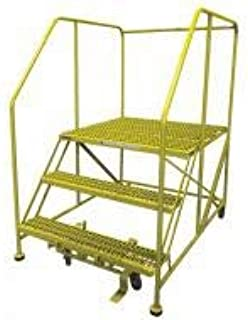 product image for Cotterman 3WP3636RA3B4B8AC2P6 - Work Platform 3 Step Steel 60In. H.