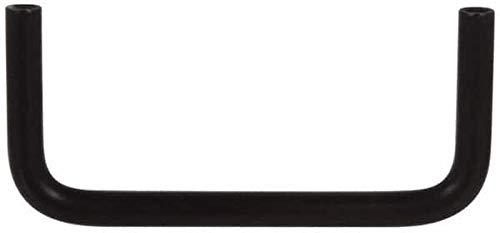 Black Coated Electro Hardware Brass Round Handle 6 Center to Center