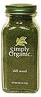 Simply Organic Dill Weed - 0.81 oz - 2 pc