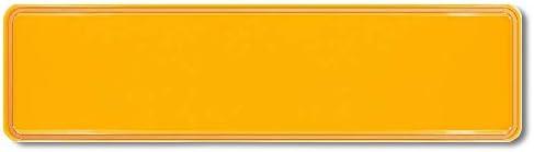 Premium 1 St/ück Fun Kennzeichen 52cm x 11cm Wunschtext Individuell Wunschkennzeichen Wunschpr/ägung bis zu 19 Zeichen Namens Kennzeichen Namensschild Geburtstag VIELE Farben 200 Euro