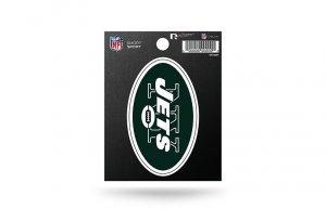 Rico Industries NFL New York Jets Die Cut Team Logo Short Sport Sticker