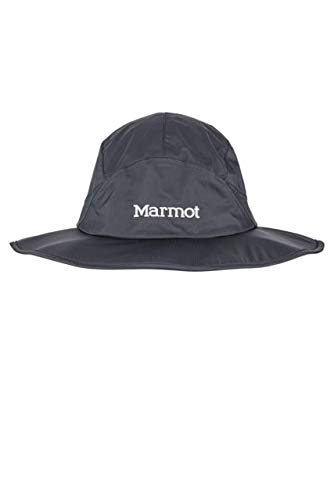 Marmot PreCip Eco Safari Hat - Mens, Black, Extra Large/2XL, 13980-001-XL/XXL