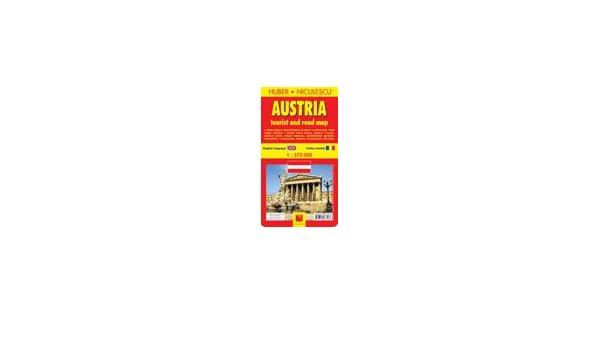 Austria Harta Turistica Si Rutiera Colectiv Autori Amazon Com