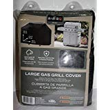 Mr. Bar-B-Q Premium Gas Grill Cover, Full Length, Black