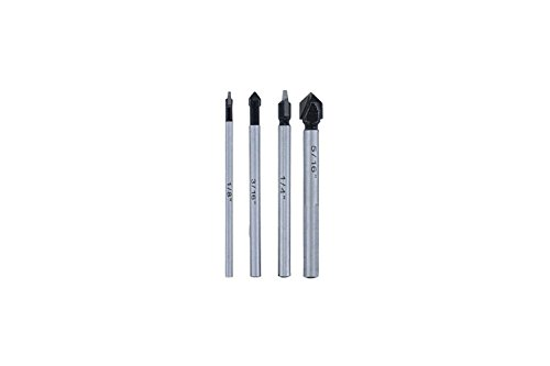 ABN Carbide Tipped Glass & Tile Bit Set 4-Piece
