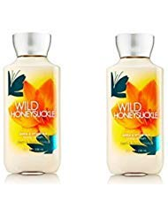 2PK Bath and Body Works Signature Collection Wild Honeysuckle Body ()