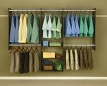 Easy Track  RB1460-T 4 To 8 Truffle  Deluxe Starter Closet