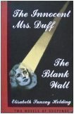 img - for The Innocent Mrs. Duff / The Blank Wall (Two Novels of Suspense) book / textbook / text book