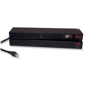 APC AP7900 Switched Rack 1.8kVA PDU - 8 x NEMA 5-15R - 1.8kVA - 1U 19 Rack-mountable (APCAP7900 ) by APC - Kva Switched Rack