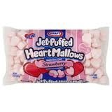 Kraft Jet-puffed Heartmallows Strawberry Flavored Marshmallows 8 Oz Package