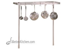 John Boos Cucina Grande Stainless Steel Pot Rack, 60 Inch ()