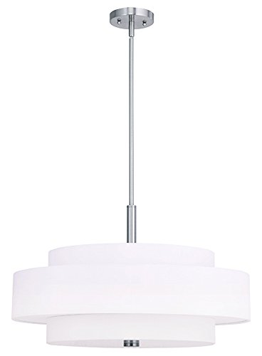 Triple Shade Pendant Light in US - 8